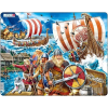 Larsen Larsen maxi puzzle 65 db-os Viking hajó FI8