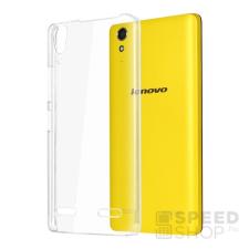 utángyártott Lenovo A6000 Ultra Slim 0.3 mm szilikon hátlap tok, átlátszó tok és táska