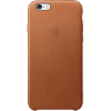 Apple iPhone 6S bõr tok saddle brown (MKXT2)