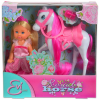 Évi hercegnő baba lóval