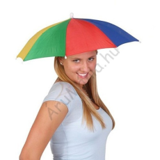 Szivárvány Színű Esernyő Sapka
