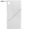 Nillkin SUPER FROSTED műanyag telefonvédő (gumírozott, érdes felület, képernyővédő fólia, tisztítókendő) FEHÉR [Sony Xperia M4 Aqua (E2303)]