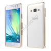 utángyártott Telefonvédő alumínium keret (BUMPER) ARANY [Samsung Galaxy A3 (SM-A300F)]