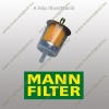 MANN-FILTER PU723X Mann-Filter Üzemanyagszűrő betét