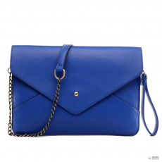 L1507 - Miss Lulu London Envelope Táska Clutch táska Navy
