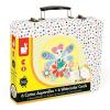 JANOD - Kreatív akvarellszett bőröndben