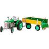 KOVAP Zetor traktor utánfutóval, zöld