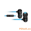 Roccat Aluma Headset Black/Blue Mobil headset,2.0,3.5mm,Kábel:1,2m,16Ohm,20Hz-20kHz,Mikrofon,Black/Blue