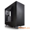 "FRACTAL Design Define S Window Black Black,3x3,5"",ATX,Window,Audio,Táp nélkül,233x451x520mm,2x2,5"",2xUSB3.0"