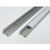 Led profil led szalagokhoz, általános, U alakú, bronz 1 méteres, alumínium