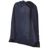 CENTRIX Condor hátizsák-tornazsák, sötétkék (Speciális anyagkombináció miatt ez az egyszerű táska egyedi és)