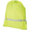 CENTRIX PREMIUM fluor.hátizsák-tornazsák, sárga (Premium fluoreszkáló hátizsák-tornazsák, húzózsinórral)