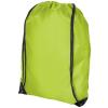 CENTRIX Oriole tornazsák, hátizsák, zöld (PREMIUM tornazsák, húzózsinórral zárható nagy fő rekesszel. A)