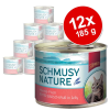 Schmusy Nature hal 12 x 185 g - Tonhal pur
