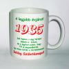 Évszámos bögre 80, 1935
