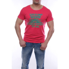 Devergo férfi póló piros