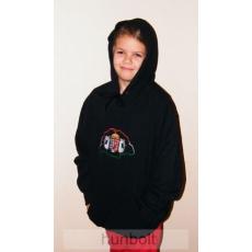 Kapucnis pulóver S méret