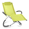 Blumfeldt Chilly Billy, lime színű, kerti relax szék, alumínium