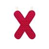 LILLIPUTIENS X betű - textil