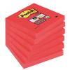 3M-POST-IT Self-adhesive Pad POST-IT® Super Sticky (654-6SS-PO)  76x76mm  90 sheets  red 051141380841