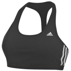 Adidas Three Stripe bélelt női fitnesz top