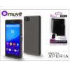 Made for Xperia MUVIT Sony Xperia Z5 Compact (E5803) hátlap - Made for Xperia Muvit miniGel - black