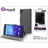 Made for Xperia MUVIT Sony Xperia Z5 Premium (E6853) flipes tok - Made for Xperia Muvit Slim Stand Folio - grey
