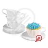 Muffin sütő csésze 8 részes CupCakes