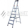 KRAUSE Monto Safety 6 lépcsőfokos állólétra (126344)