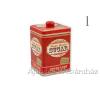 Retro fémdoboz Sugar szögletes 11x16cm ékszerdoboz