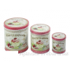 Fémdoboz Cherry Cupcake 3db-os