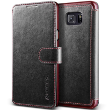 VERUS Samsung Galaxy Note 5 Dandy Layered bőr tok, fekete tok és táska