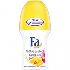 Fa Floral Protect Orchid & Viola Roll-on 50 ml dezodor