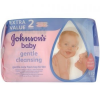 Johnson's Baby Gentle Cleansing nedves törlőkendő, Duo Pack, 112 db  (3574660724653)