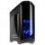 Kolink Aviator táp nélküli ablakos ház fekete kék LED /AVIATOR-GM/