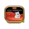 Animonda Cat Vom Feinsten Kitten, marha 12 x 100 g