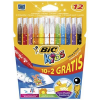 Bic Flamastry Kid Couleur Pudełko 14+4 flk0410057
