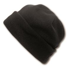 Polár sapka, fekete (Polár sapka, 200 g/m2 Méret: 27x16cm.)
