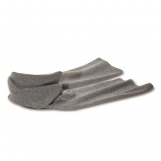 Polár sál, szürke (Polár sál, 200 g/m2. Méret: 150 × 25 cm.)