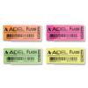 ADÉL Radír Adél Flash, 50x20mm, neon színek