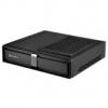 Silverstone SST-ML08B USB3.0 Milo HTPC ház - Fekete
