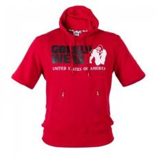 Gorilla Wear Boston Short Sleeve Hoodie - Red