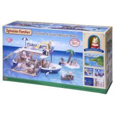Sylvanian Families Tengerparti hajóház játékfigura