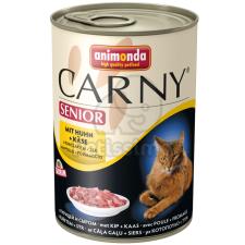 Animonda Cat Carny Senior, csirke és sajt 24 x 200 g macskaeledel