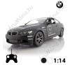 BMW M3 Távirányítós Sportkocsi, Fekete rc autó