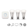 Philips Hue Starter kit 3x9W E27 White and color ambiance + bridge