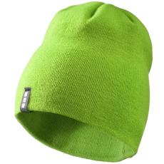ELEVATE Level Beanie sapka, zöld (Bordás kötésű, kétrétegű sapka.  100% akril. Kívül-belül Elevate)
