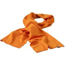 ELEVATE Mark sál, narancs (Mark sál, kétrétegű, körkötött anyag, tisztázott szélek. A sál szélein  tűzött)