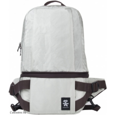 CRUMPLER - Light Delight Foldable Backpack platinum