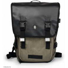 CRUMPLER - Muli Half Photo Backpack black / tarpaulin